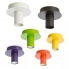 Μεταλλικό φωτιστικό οροφής σε 6 χρώματα