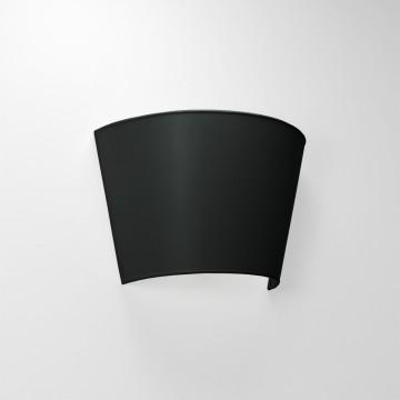 Helios Απλίκα Τοίχου Μαύρο