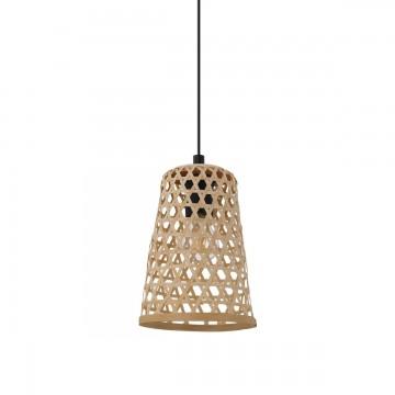 Claverdon Ξύλινο Φωτιστικό Οροφής - Μπαμπού Ø18cm