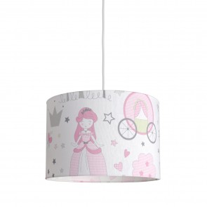 Hesperis Kids Κρεμαστό Παιδικό Φωτιστικό - Love Princess