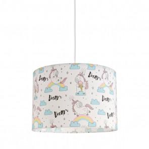 Παιδικό φωτιστικό οροφής Dream Unicorn