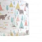 Παιδικό φωτιστικό οροφής Teepee Bears